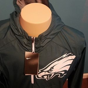 pretty nice 220c6 435ba NIKE NFL lightweight Fly Rush Jacket Eagles NWT